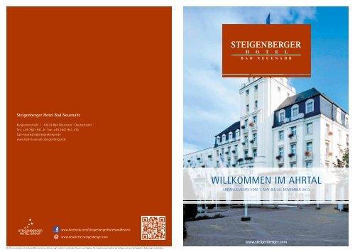 Inspiration Sommer 2013 - Steigenberger Hotels and Resorts