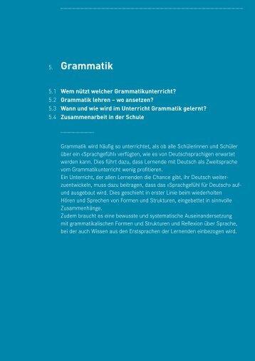 5. Grammatik - Netzwerk Sims
