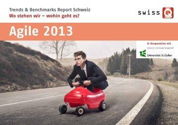 Agile 2013 - SwissQ