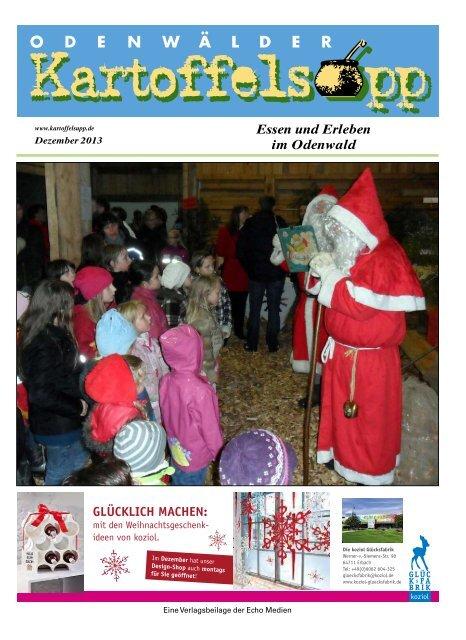 Kartoffelsupp Dezember 2013 (PDF) - IdeenFloral
