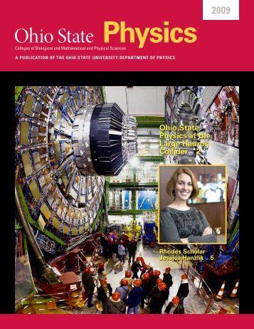 Ohio State Physics - Department of Physics - The Ohio State University