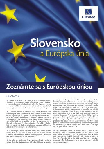 a Európska únia - SZM.sk