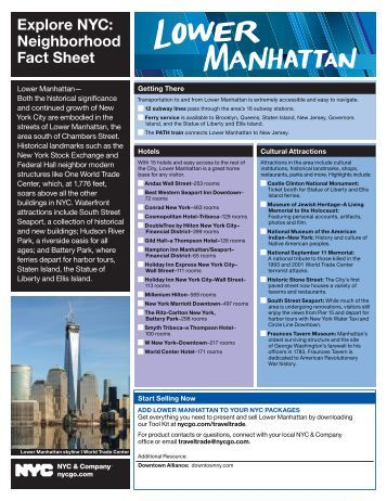 Explore NYC: Neighborhood Fact Sheet - NYC & Company