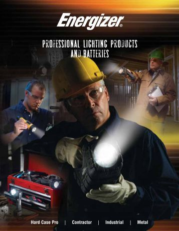 Professional Lighting Products and batteries - Energizer Technical ...