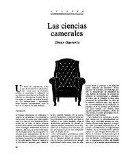 Las ciencias camerales - omarguerrero.org