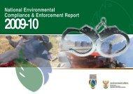 National Environmental Compliance & Enforcement Report 2009-10