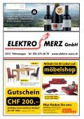 das offizielle Monatsmagazin für Meisterschwanden ... - dorfheftli - Seite 2