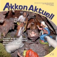 Akkon Aktuell als pdf ansehen - 15., Pfarre Akkonplatz