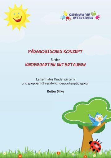 Konzept kindergarten sparkling diamonds for Konzept kindergarten
