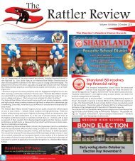 The Rattler Review - October 2011 - Sharyland ISD
