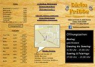 Speisekarte als PDF herunterladen - Dicke Fritte