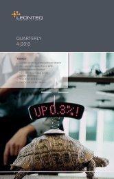 QUARTERLY 4 | 2013 - Leonteq Securities AG