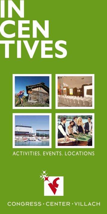 Incentives - Congress Center Villach