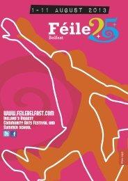 1-11 august 2013 - Féile an Phobail