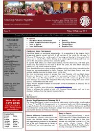 Issue 1 In Touch 15 February 2013 - Department of Education ...