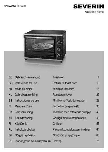 DE Gebrauchsanweisung GB Instructions for use FR ... - Wehkamp.nl