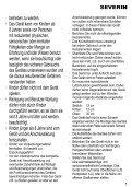 DE Gebrauchsanweisung GB Instructions for use FR ... - Wehkamp.nl - Page 5