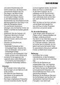 DE Gebrauchsanweisung GB Instructions for use FR ... - Wehkamp.nl - Page 7