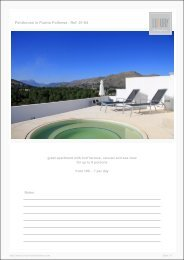 Penthouse in Puerto Pollensa - Luxury Holidayhomes on Mallorca