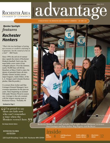 May 2013 - Rochester Area Chamber of Commerce