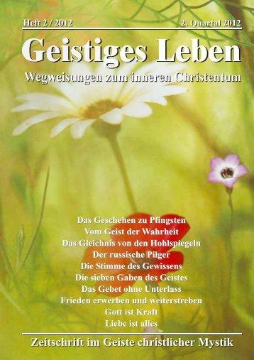 GL 2/2012 - der Lorber-Gesellschaft eV