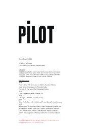CV in English (pdf) - Pilot Galeri