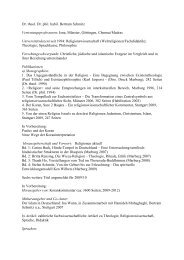 Prof. Dr. Dr. Bertram Schmitz - netzwerk-bildung-religion