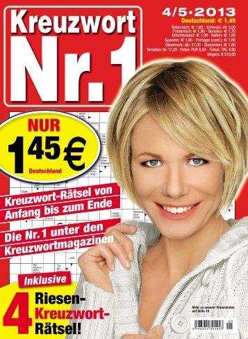 Blick ins Rätsel-Magazin (PDF) - PMV Rätsel-Magazine