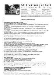 Ausgabe 16 Mittwoch, 02.08.2006 - Weichering