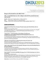 Pressemappe Pressekonferenz 23.10.2013 - DKOU