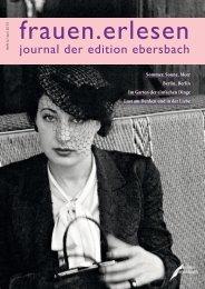 journal der edition ebersbach
