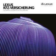 LEXUS KFZ-VERSICHERUNG - Aioi Nissay Dowa Insurance Europe
