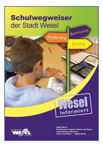Schulwegweiser (1.4248046875 MB ) - Wesel