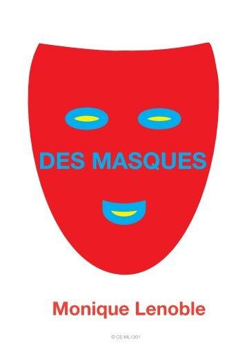 """Dossier de presse du spectacle """"Des Masques"""" - WBI"""