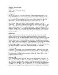 Phenology Project Write-up - USA National Phenology Network