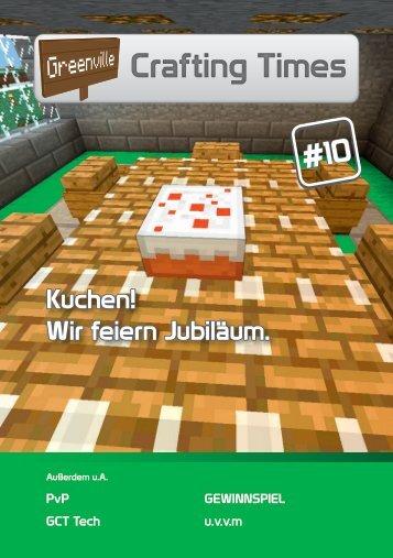 Kuchen! Wir feiern Jubiläum. - GIGA Minecraft