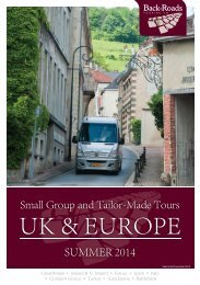 Download Brochure - Back-Roads Touring
