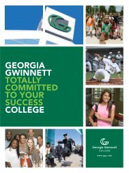 Download our Viewbook - Georgia Gwinnett College