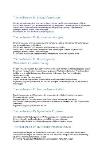 Themenbereich 24: Stetige Verteilungen Themenbereich ... - maths.at