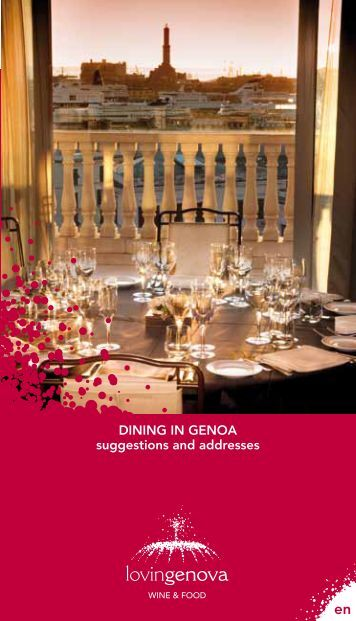 DiNiNg iN gENoa suggestions and addresses - Genova