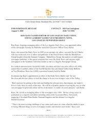 Ron Kaye release