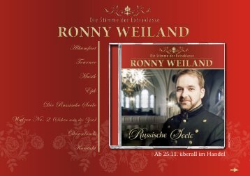 Download Pressemappe - ronny weiland