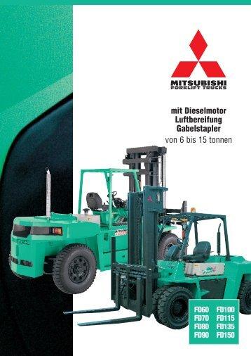 CGBM0423 MIT Duits 71106 - Mitsubishi Forklift Trucks