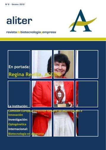 Revista Biotecnología y Empresa Octubre 2012 - Aliter