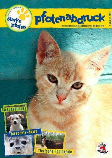 Tierschutz-News Tierische Schicksale - Starke Pfoten