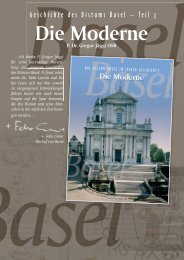 Flyer Geschichte Bistum Basel Teil 3 (PDF, 4.1 Mo)