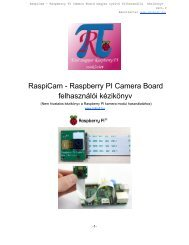 Raspberry Pi LPC1114 I/O Processor Board User Guide - Munts