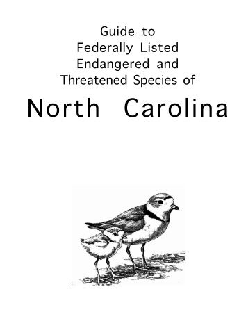 Preface - NC Dept. of Environment and Natural Resources