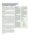 39 Goda exempel på Hållbart byggande ifrån ByggaBoDialogen - Page 7