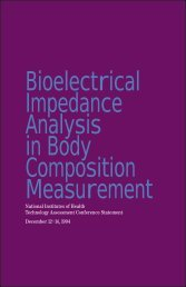 Bioelectrical Impedance Analysis in Body Composition Measurement